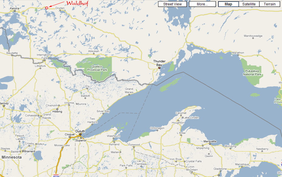 Eagle lake ontario canada map movie search engine at for Canada fishing guide